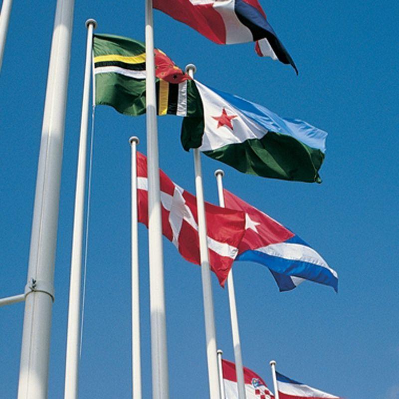 Stort udvalg af flagstang og diverse